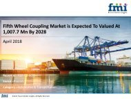 Fifth Wheel Coupling Market is Expected to be Valued at 1,007.7 Mn by 2028