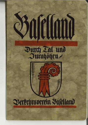 Baselland - Durch Tal und Jurahöhen (1925)