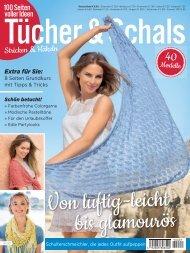 Zeitschrift: Tücher & Schals - Stricken & Häkeln