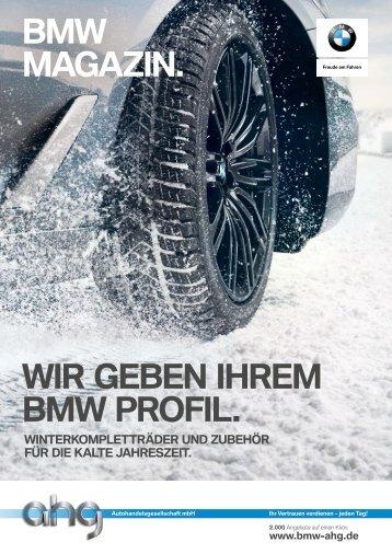 ahg BMW Wintermagazin 2018_2019
