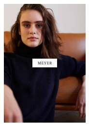 MEYER –  The Elegance of Cashmere for einzigart – Unisex. Made in Scotland
