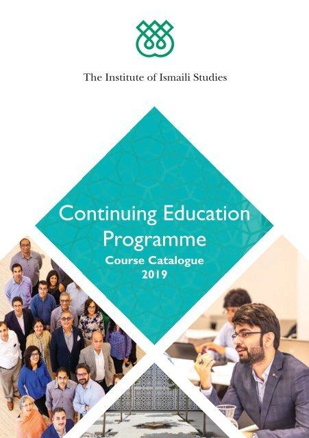 IIS Continuing Education Programme 2019