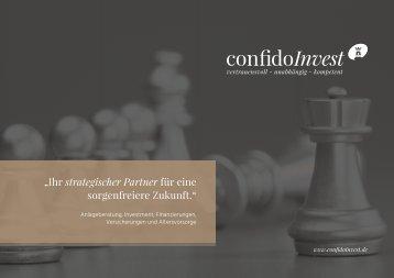 confidoInvest - Imagebroschüre