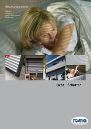 roma Gesamtprogramm 2011 - Harald Raschke GmbH