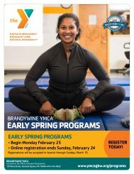 Brandywine YMCA Early Spring Program Guide 2019