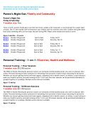 Brandywine YMCA Early Spring Program Guide 2019 - Page 7