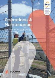 ECOTECH Operations and Maintenance brochure