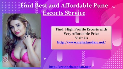 Find Best and Affordable Pune Escorts Service