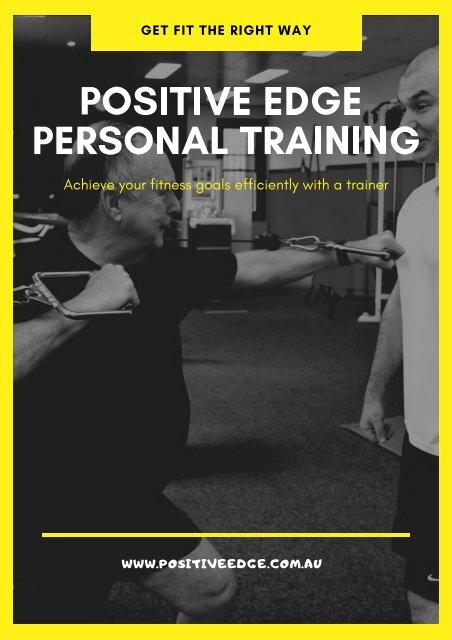 How Can a Personal Trainer Contribute to Your Fitness Journey?