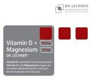 Vitamin D + Magnesium DR.LECHNER®