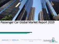 Passenger Car Global Market Report 2019