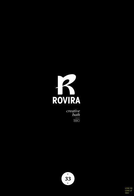 Rovira - Catálogo + Tarifa - Negro, Latón Pulido