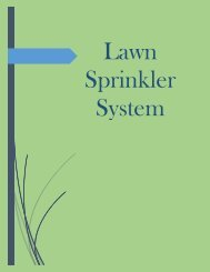 Lawn Sprinkler System Richmond Hill
