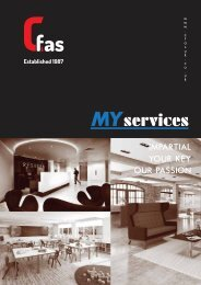 CFAS MY SERVICES Brochure