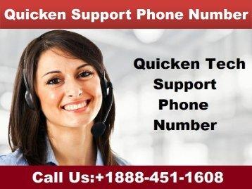 +1888-451-1608 Quicken Support Phone Number