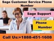+1888-451-1608 Sage Customer Service Phone Number