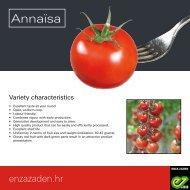 Leaflet Annaïsa Croatia 2018