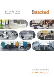 Stacked Office Interiors Catalogue 2020