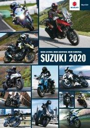 Suzuki Motorrad Katalog 2019