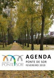 Agenda Ponte de Sor - fevereiro 2019