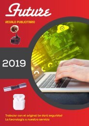 CATALOGO 2019 FUTURE