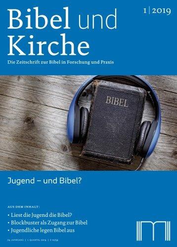 Bibel und Kirche 19_1_Jugend und Bibel