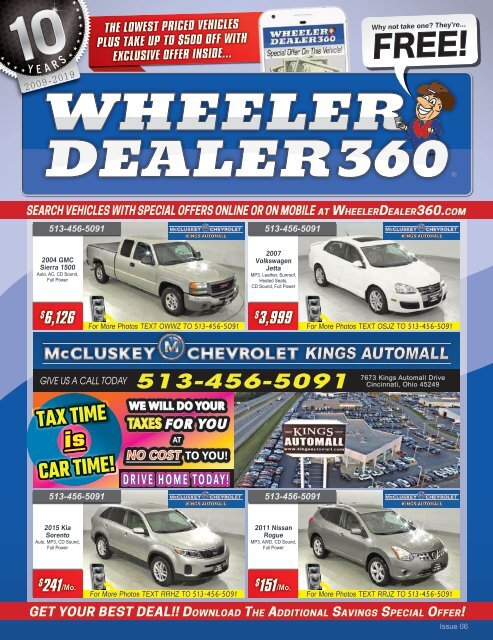 Wheeler Dealer 360 Issue 06, 2019