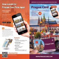 Prague Card Flyer 2019