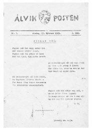 Ålvik Posten-1949