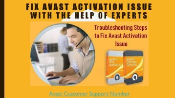 Resolve Avast Activation Issue