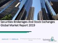 Securities Brokerages And Stock Exchanges Global Market Report 2019
