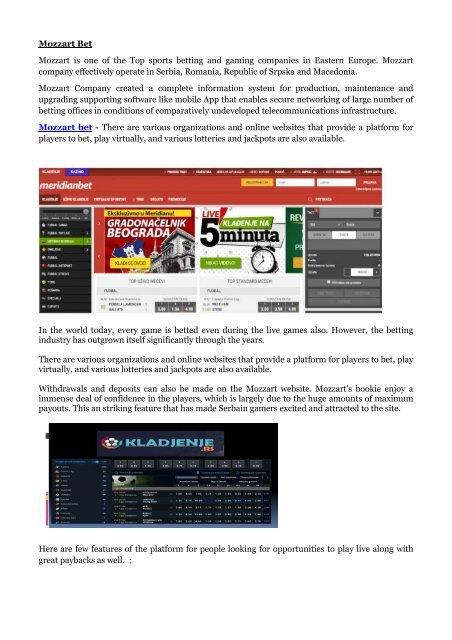 mozzart bet ticket status betting