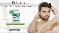 Natural Hair Loss Solution for Male