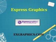 Digital Printing - Express Graphics