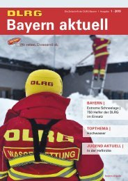 DLRG Bayern aktuell | 01 - 2019