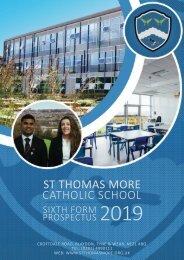 2019-20 Sixth Form Prospectus