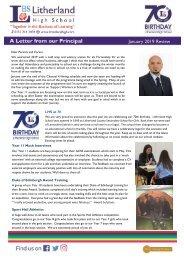 Principals Letter Jan 19