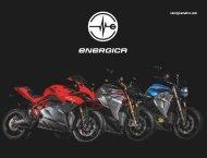 Energica Elektromotorräder Modelle 2019