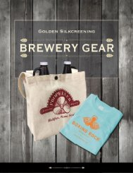Golden Brewery Catalogue