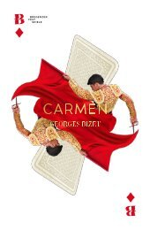 Programmheft Carmen 2017