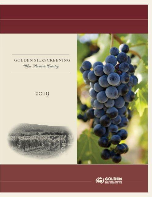 Winery Catalogue 2019