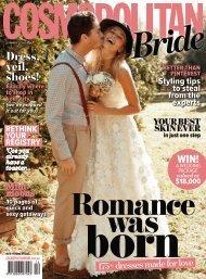 Cosmopolitan Bride Magazine Australia - Summer 2014-2015