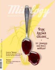 Mixology - Magazin für Barkultur | Issue 1/2019