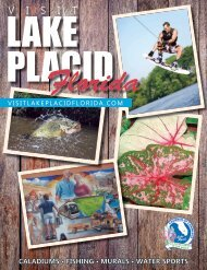 Lake Placid, Florida Visitors Guide