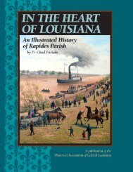 In the Heart of Louisiana - An Illustrated History of Rapides Parish