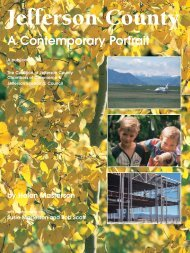 Jefferson County - A Contemporary Portrait