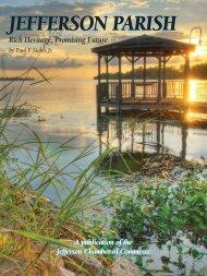 Jefferson Parish - Rich Heritage, Promising Future