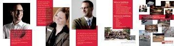Flyer zur Ausbildung als PDF - Metten Stein+Design