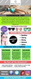 Kraywoods | Original Wood Sunglasses