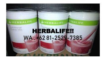 PROMO, WA +62 81-2529-7385, Herbalife Malang Kaskus